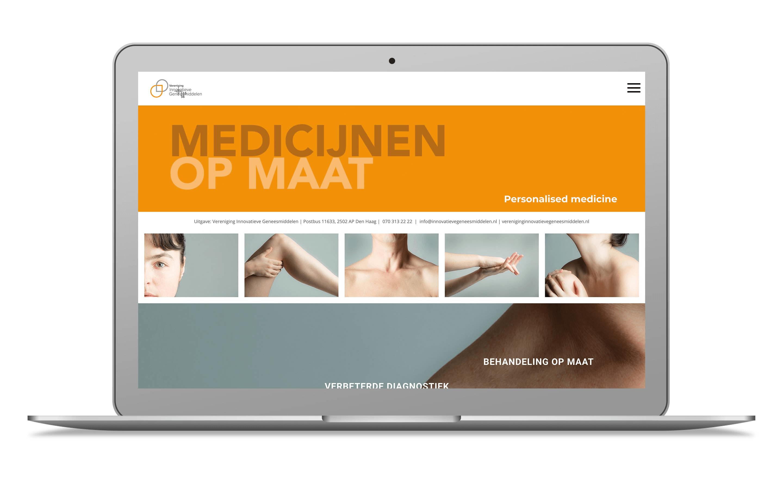 Screenshot Medicijnen op Maat