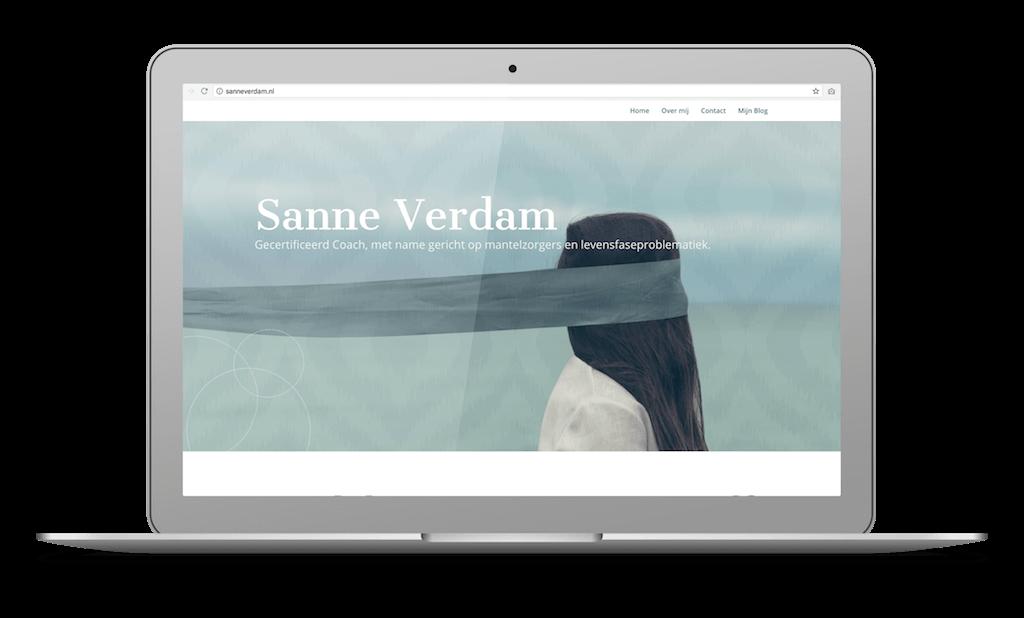 Screenshot Sanne Verdam