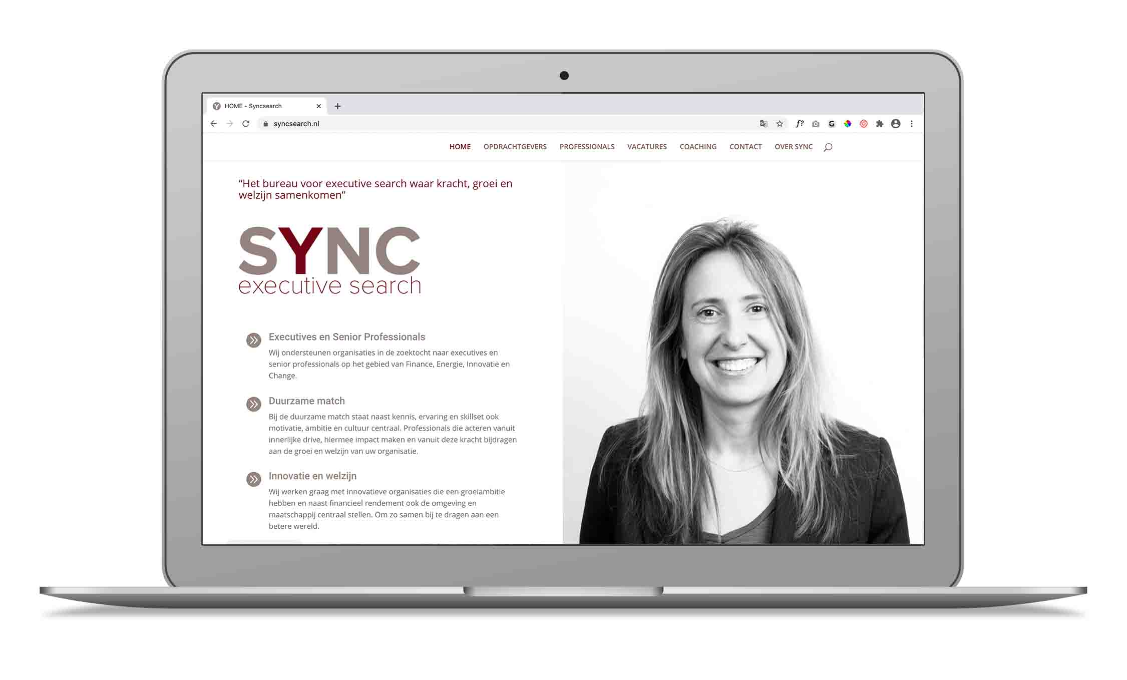 sync executive search